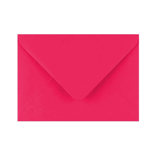 C6 Fuchsia Pink Gummed Diamond Flap Greeting Envelopes [Qty 1,000] 114 x 162mm