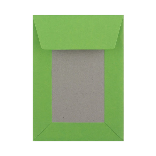 C6 Green Board Back Envelopes [Qty 250] 114 x 162mm