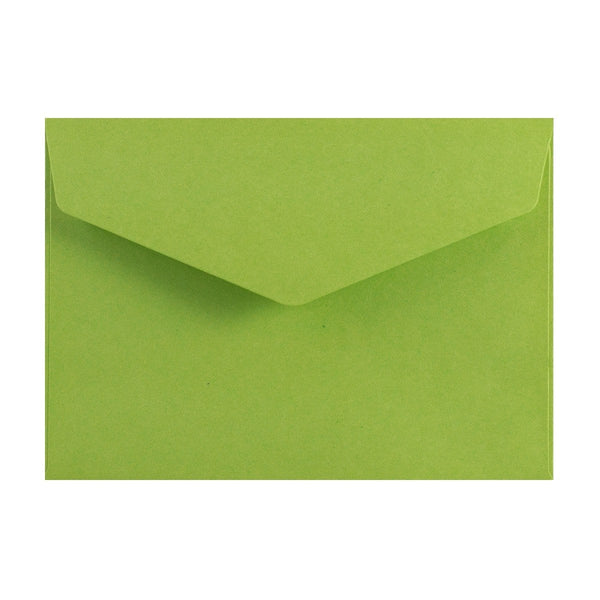C6 Green V Flap Peel & Seal Envelopes [Qty 250] 114 x 162mm (2131376275545)