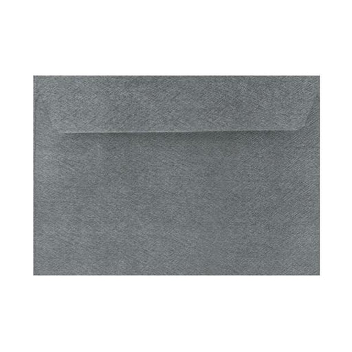 C6 Grey Textured 120gsm Peel & Seal Envelopes [Qty 250] 114 x 162mm