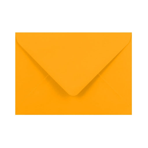 C6 Harvest Yellow Gummed Diamond Flap Greeting Envelopes [Qty 1,000] 114 x 162mm (2131151028313)