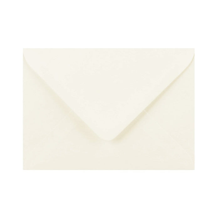C5 Ivory Laid Gummed Diamond Flap Greeting Envelopes [Qty 1,000] 162 x 229mm