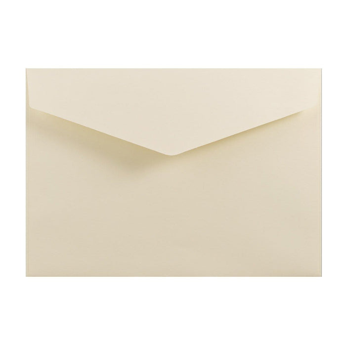 C6 Ivory V Flap Peel & Seal Envelopes [Qty 250] 114 x 162mm (2131376635993)