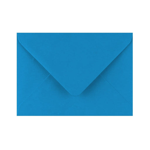 C6 Kingfisher Blue Gummed Diamond Flap Greeting Envelopes [Qty 1,000] 114 x 162mm