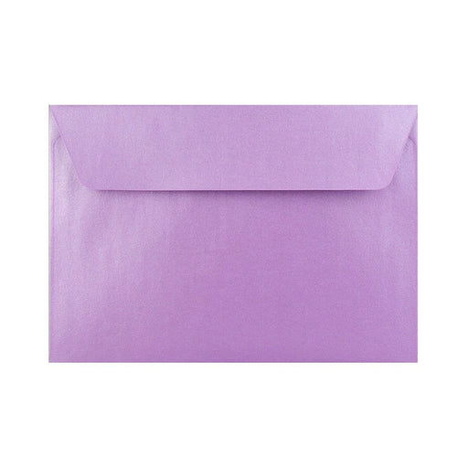 C6 Pearlescent Lavender 120gsm Peel & Seal Envelopes [Qty 250] 114 x 162mm