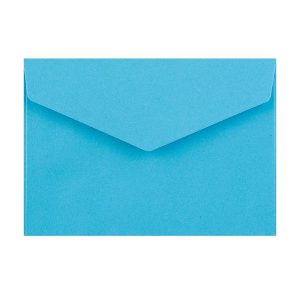 C6 Bright Blue V Flap Peel & Seal Envelopes [Qty 250] 114 x 162mm (2131376144473)