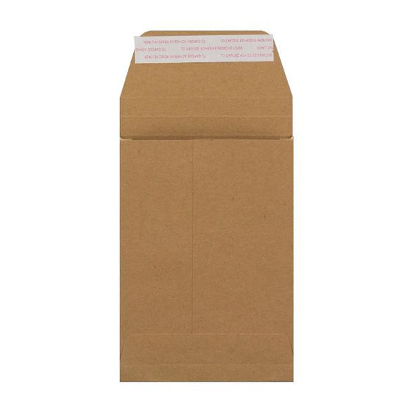 C6 Manilla Gusset 180gsm Envelopes [Qty 200] 162 x 114 x 25mm