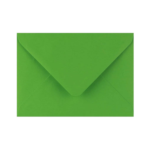 C6 Meadow Green Gummed Diamond Flap Greeting Envelopes [Qty 1,000] 114 x 162mm