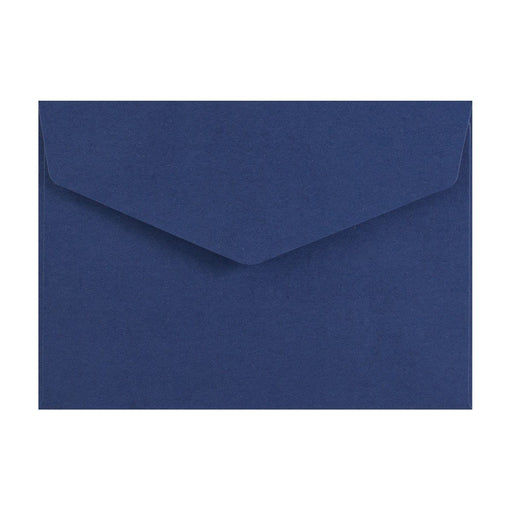 C6 Navy V Flap Peel & Seal Envelopes [Qty 250] 114 x 162mm