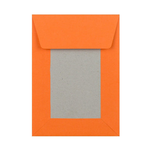 C6 Orange Board Back Envelopes [Qty 250] 114 x 162mm