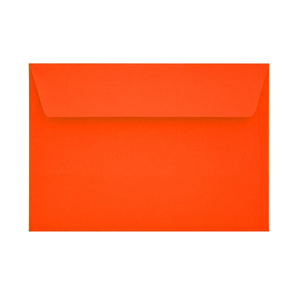 C6 Sunset Orange 120gsm Peel & Seal Envelopes [Qty 250] 114 x 162mm (2131090571353)