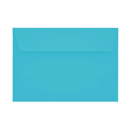 C6 Pacific Blue 120gsm Peel & Seal Envelopes [Qty 250] 114 x 162mm