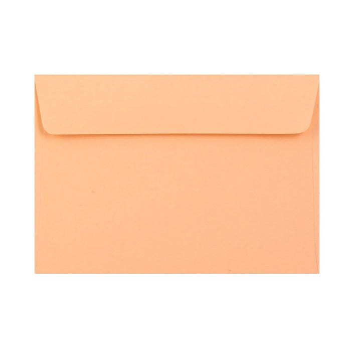 C6 Peach 120gsm Peel & Seal Envelopes [Qty 250] 114 x 162mm (2131410223193)