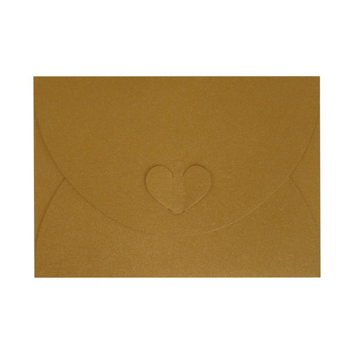 C6 Pure Gold Butterfly Envelopes [Qty 50] 114 x 162mm