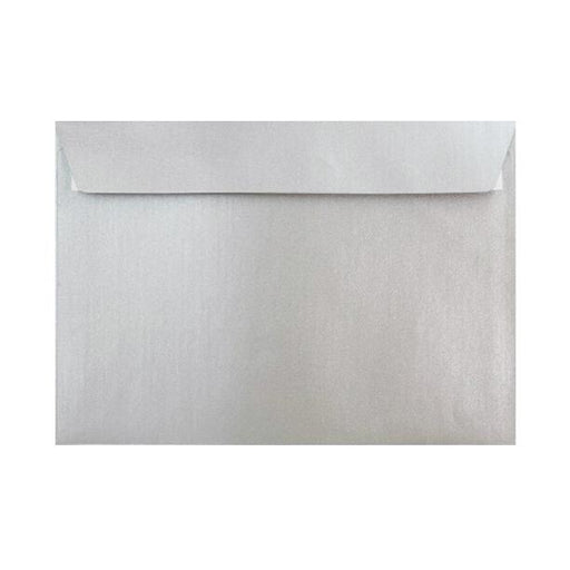 C6 Metallic Silver 120gsm Peel & Seal Envelopes [Qty 250] 114 x 162mm