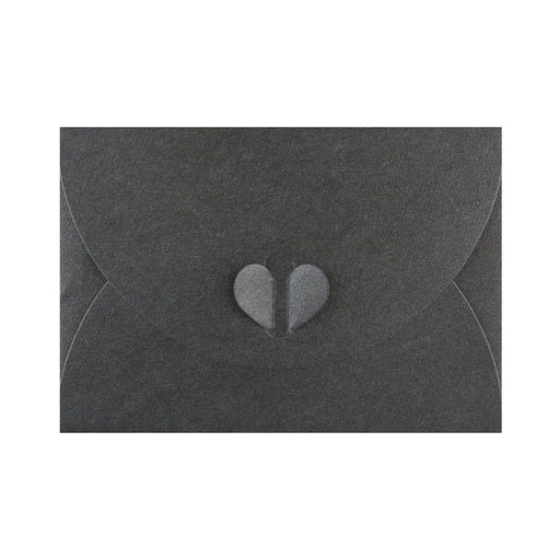 C6 Slate Black Butterfly Envelopes [Qty 50] 114 x 162mm