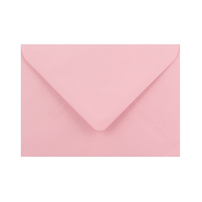 C6 Soft Pink Gummed Diamond Flap Greeting Envelopes [Qty 1,000] 114 x 162mm (2131162693721)