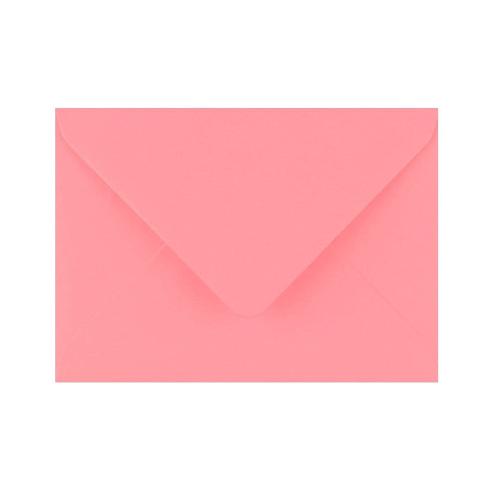 C6 Sunrise Pink Gummed Diamond Flap Greeting Envelopes [Qty 1,000] 114 x 162mm (2131433390169)