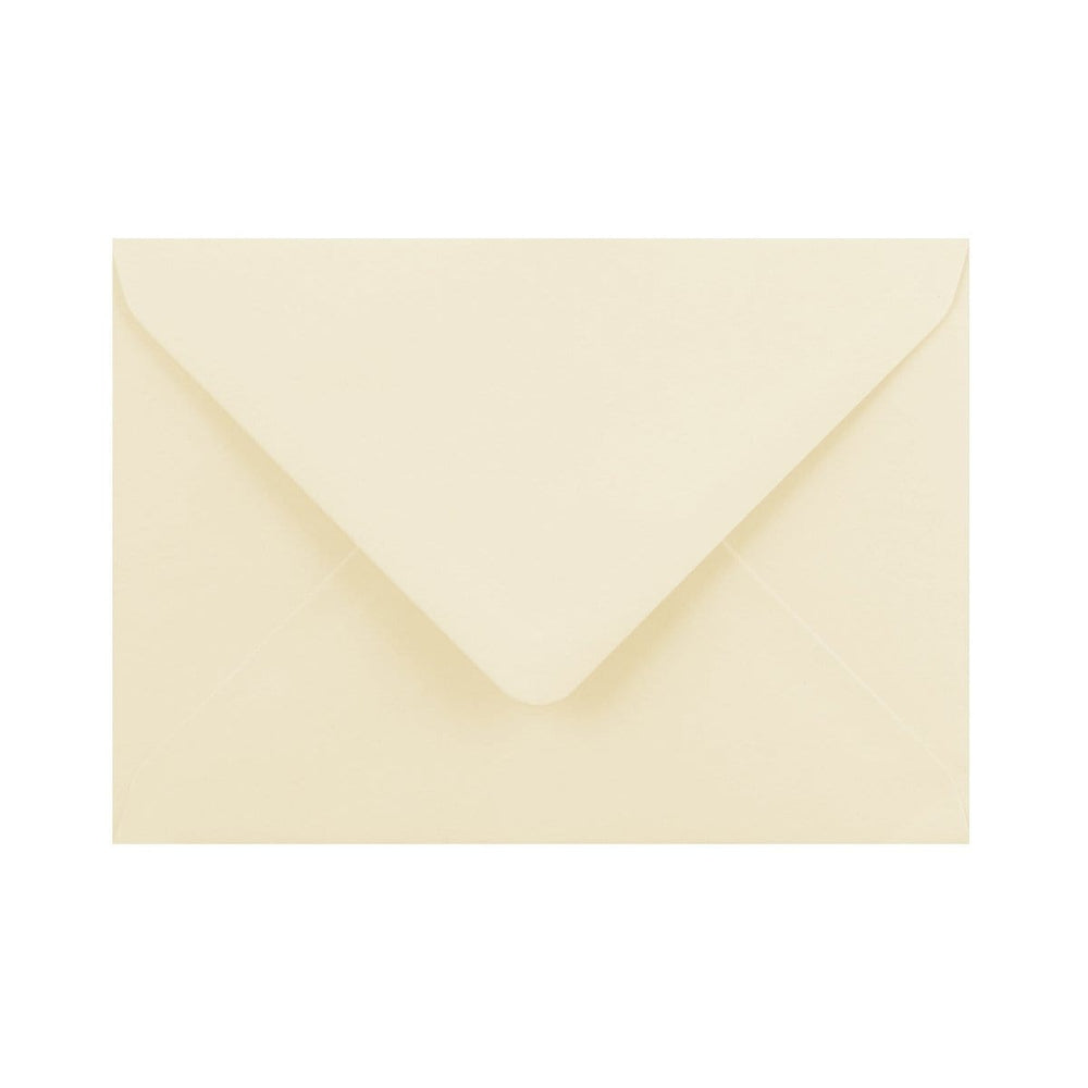 C6 Vanilla Cream Gummed Diamond Flap Greeting Envelopes [Qty 1,000] 114 x 162mm (2131163676761)
