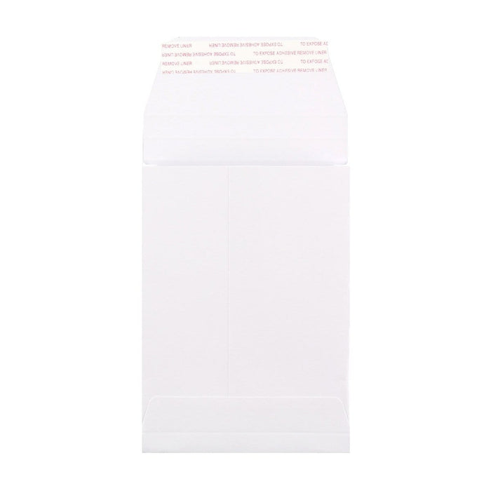 C6 White Gusset 180gsm Envelopes [Qty 200] 162 x 114 x 25mm