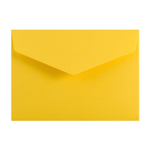 C6 Yellow V Flap Peel & Seal Envelopes [Qty 250] 114 x 162mm (2131377389657)