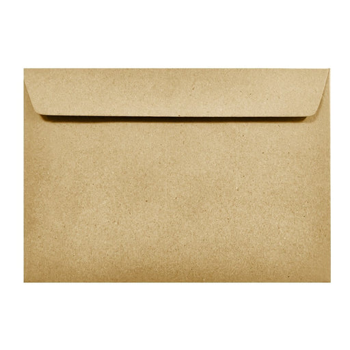 C6 Recycled Kraft Fleck 110gsm Peel & Seal Envelopes [Qty 250] 114mm x 162mm (2131456393305)