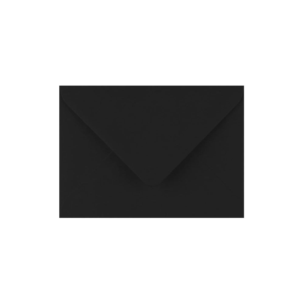C7 Black Gummed Diamond Flap Greeting Envelopes [Qty 1,000] 82 x 113mm (2131123437657)