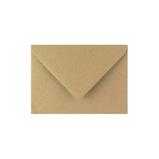 C7 Brown Fleck Gummed Diamond Flap Greeting Envelopes [Qty 1,000] 82 x 113mm