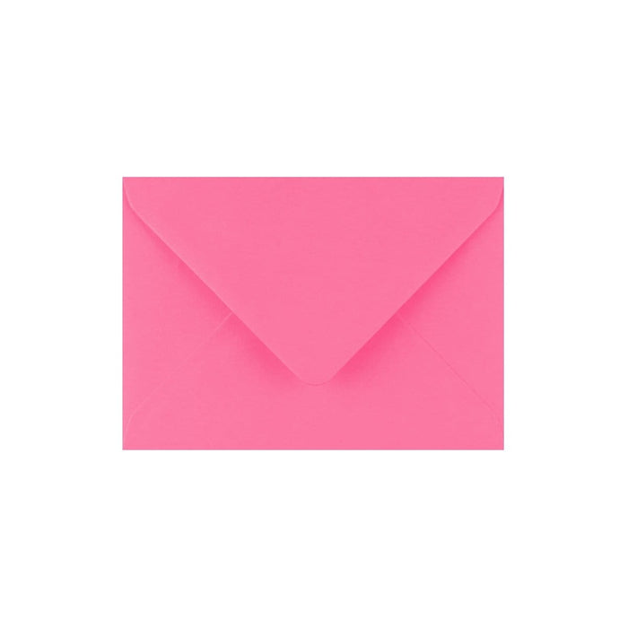 C7 Candy Pink Gummed Diamond Flap Greeting Envelopes [Qty 1,000] 82 x 113mm