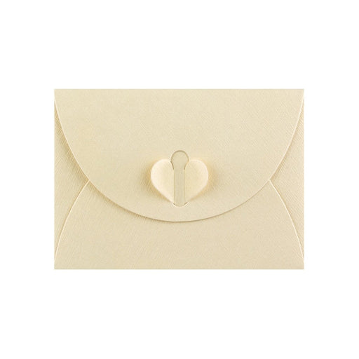 C7 Champagne Ivory Butterfly Envelopes [Qty 50] 82 x 113mm