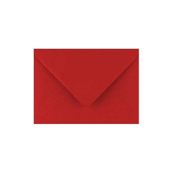 C7 Crimson Red Gummed Diamond Flap Greeting Envelopes [Qty 1,000] 82 x 113mm (2131147620441)