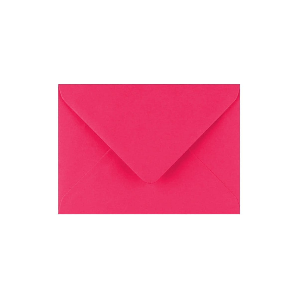 C7 Fuchsia Pink Gummed Diamond Flap Greeting Envelopes [Qty 1,000] 82 x 113mm (2131149193305)