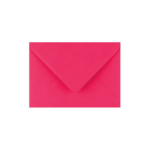 C7 Fuchsia Pink Gummed Diamond Flap Greeting Envelopes [Qty 1,000] 82 x 113mm