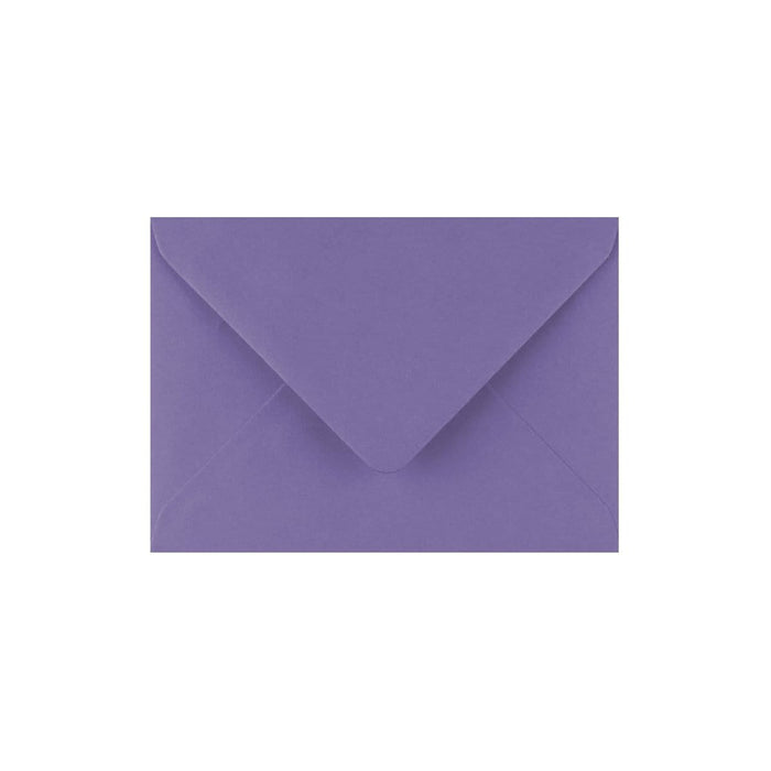 C7 Indigo Gummed Diamond Flap Greeting Envelopes [Qty 1,000] 82 x 113mm