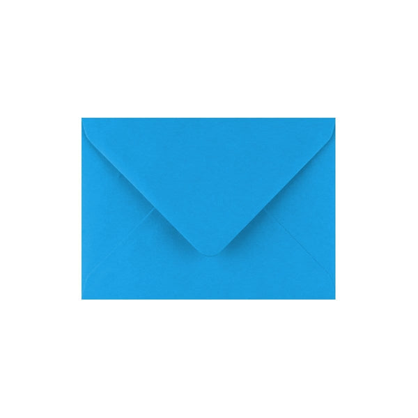 C7 Kingfisher Blue Gummed Diamond Flap Greeting Envelopes [Qty 1,000] 82 x 113mm (2131154436185)
