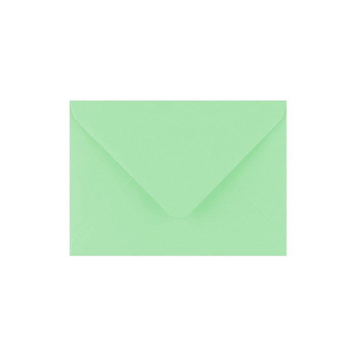 C7 Leaf Bird Green Gummed Diamond Flap Greeting Envelopes [Qty 1,000] 82 x 113mm (2131435880537)