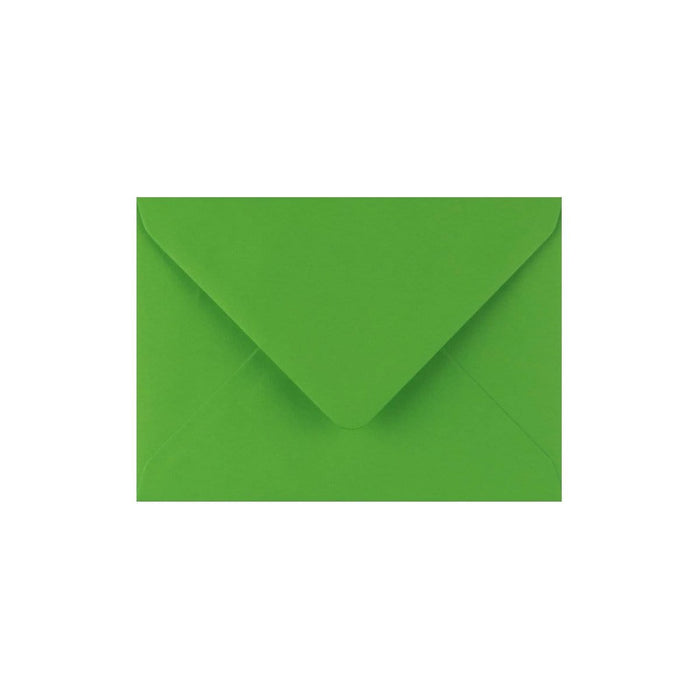 C7 Meadow Green Gummed Diamond Flap Greeting Envelopes [Qty 1,000] 82 x 113mm (2131156402265)
