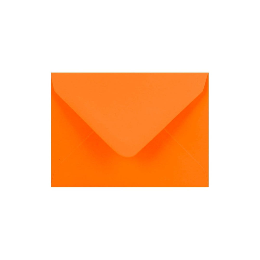 C7 Orange Gummed Diamond Flap Greeting Envelopes [Qty 1,000]  82 x 113mm
