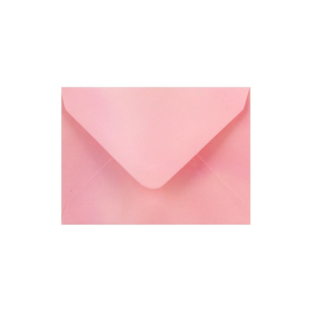 C7 Pearlescent Pink Gummed Diamond Flap Greeting Envelopes [Qty 1,000] 82 x 113mm (2131158597721)
