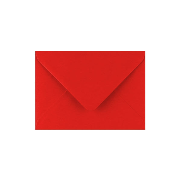 C7 Poppy Red Gummed Diamond Flap Greeting Envelopes [Qty 500] 82 x 113mm (2131427786841)