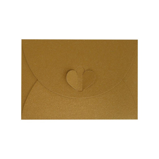 C7 Pure Gold Butterfly Envelopes [Qty 50] 82 x 113mm