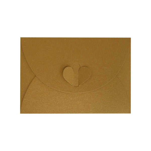 C7 Pure Gold Butterfly Envelopes [Qty 50] 82 x 113mm (2131339837529)
