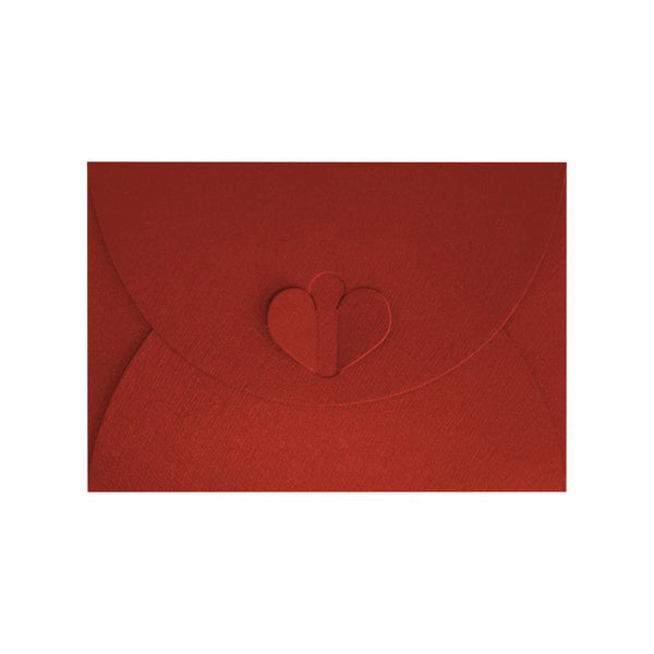 C7 Red Butterfly Envelopes [Qty 50] 82 x 113mm