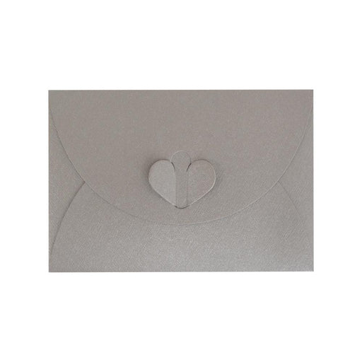 C7 Silver Butterfly Envelopes [Qty 50] 82 x 113mm