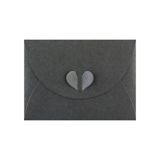 C7 Slate Black Butterfly Envelopes [Qty 50] 82 x 113mm
