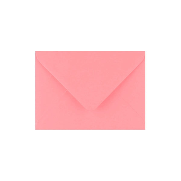 C7 Sunrise Pink Gummed Diamond Flap Greeting Envelopes [Qty 1,000] 82 x 113mm (2131433062489)