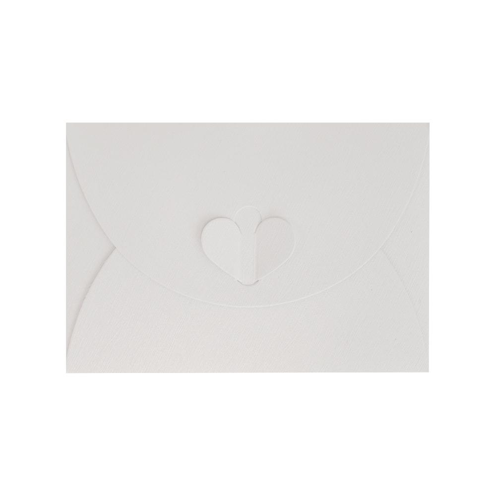 C7 White Butterfly Envelopes [Qty 50] 82 x 113mm