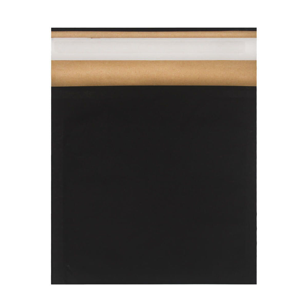 165mm x 165mm Eco Friendly Recyclable Black Padded Envelope [Qty 200]