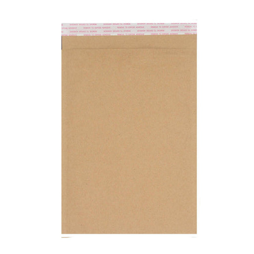 265mm x 180mm Recycled Manilla Padded Bubble Bag Mailer Envelope [Qty 100]