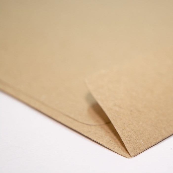 C6 Recycled Kraft Fleck 110gsm Peel & Seal Envelopes [Qty 250] 114mm x 162mm